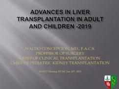 Tiến bộ trong ghép gan ở người lớn và trẻ em năm 2019