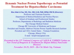 Dynamic Nuclear Proton Topotherapy as Potential Treatment for Hepatocellular Carcinoma