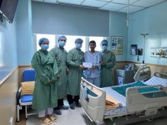 Quỹ phòng chống Viêm gan và Ghép gan hội gan mật VN đến thăm hỏi người bệnh được ghép gan tại BV ĐH Y DƯỢC TPHCM