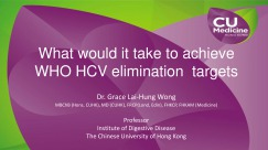 What would it take to achieve WHO HCV elimination  targets