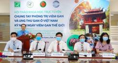 Hội thảo về phòng trị viêm gan và ung thư gan ở Việt Nam