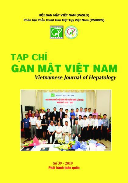 Tạp chí Gan mật Việt Nam (Vietnam Journal of Hepatology) - Số 39/2019