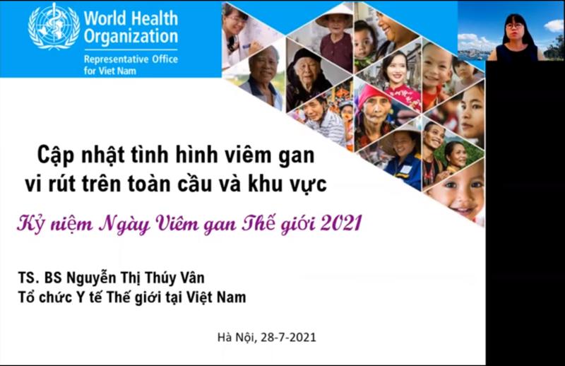 Tình hình viêm gan trên Thế giới và Thông điệp 2021 - Viêm gan - Không thể chờ!